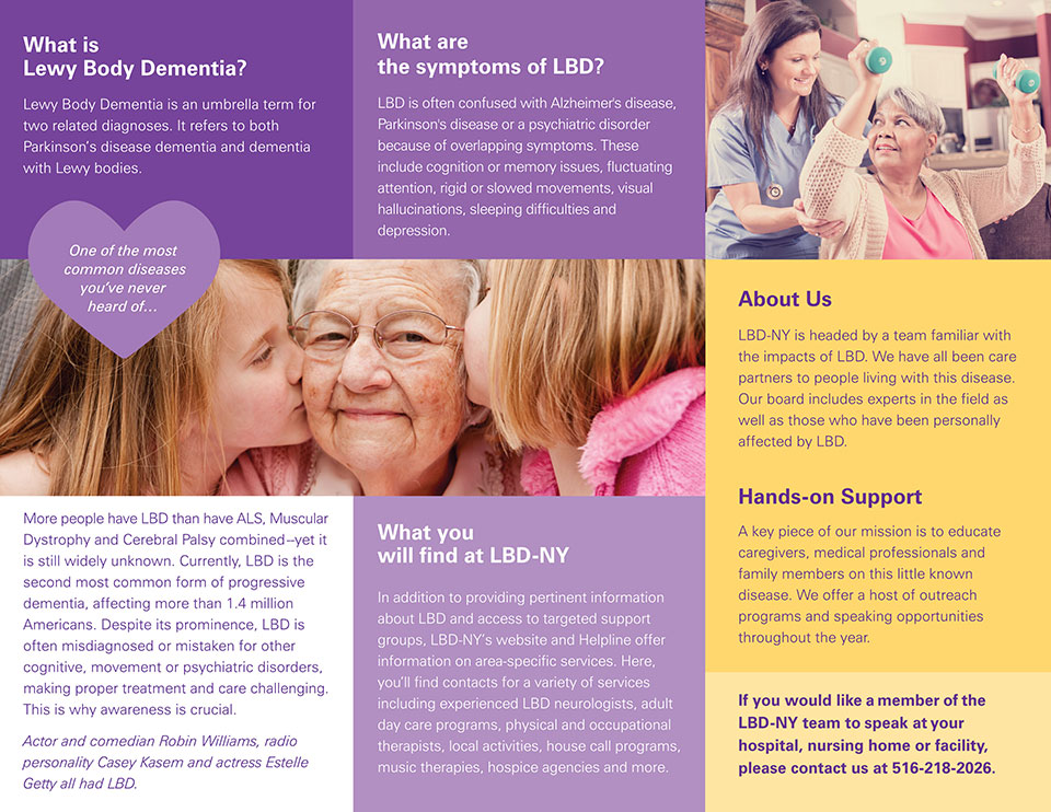 - Center Dementia Resource Body Brochure Lewy